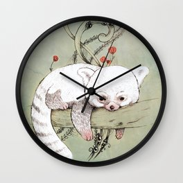 Red Panda! Wall Clock