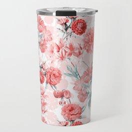 Vintage & Shabby Chic - Rose Blush Garden Flowers Travel Mug