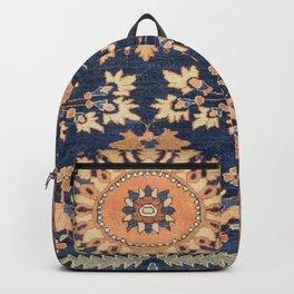 Sarouk Persian Floral Rug Print Backpack