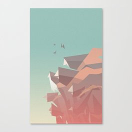 Between Bears Canvas Print