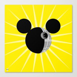 The New Death Star Canvas Print