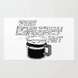 Tea Earl Grey Hot Picard - Black Rug