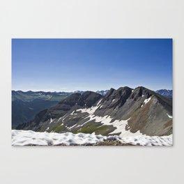 Turk Peak, Silverton, CO Canvas Print