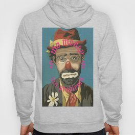 Vintage Paint By Number PBN Mo Money Clown Hoody