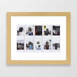 People Watching Framed Art Print