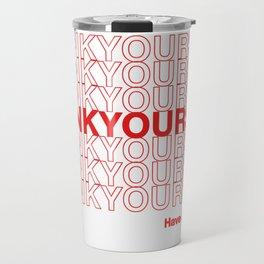 THANKYOURSELF Travel Mug
