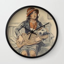 Be Kind To Animals 4 Wall Clock