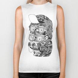 hipster Biker Tank