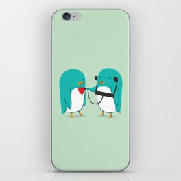 The sound of love iPhone Skin