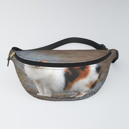 Calico On The Prowl Fanny Pack