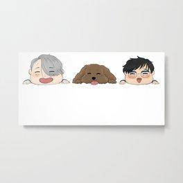katsuki nikiforov fam - yuri on ice Metal Print