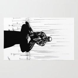 Black Spider-Man Rug