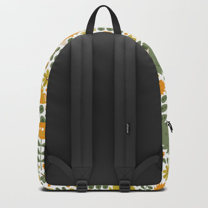 Autumn Hedgehog Forest Backpack