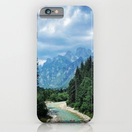 Wood as a chance of existence iPhone Case