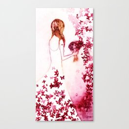 Summer Bride Canvas Print