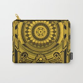 Yellow Sunflower Card Deck Cover Carry-All Pouch