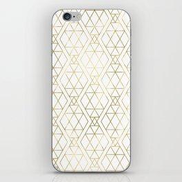 Modern Art Deco Geometric 1 iPhone Skin