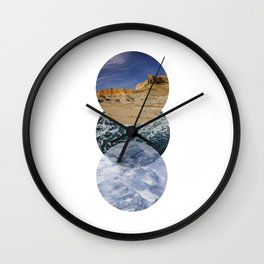 just go places Wall Clock