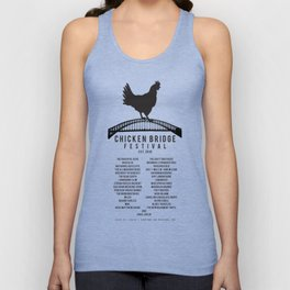Chicken Bridge Festival, v2 Unisex Tank Top