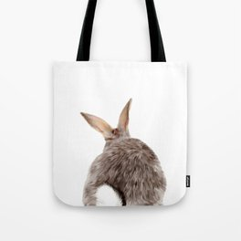 Bunny back side Tote Bag