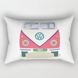 Hippie avto Rectangular Pillow