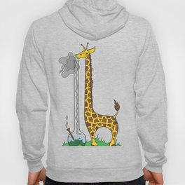 Long Long Giraffe Bong Hoody