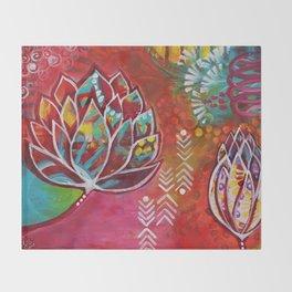 Blooming Beauty Throw Blanket