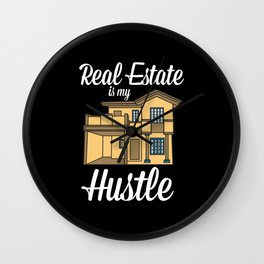 It's My Hustle Wall Clock