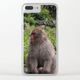 A Forlorn Summer Day Clear iPhone Case