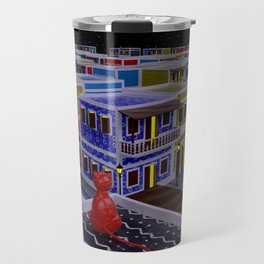 Vejigante City Travel Mug