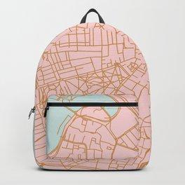 Boston map Backpack