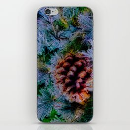 Vibrant Evergreen Christmas iPhone Skin