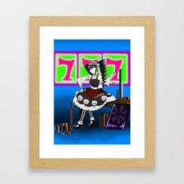 Queen of Games Framed Art Print