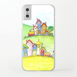 The hills Clear iPhone Case