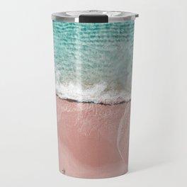 Pink Vacation Travel Mug