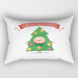 Merrry Christmas Rectangular Pillow