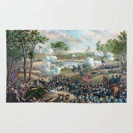 Battle of Cold Harbor Rug