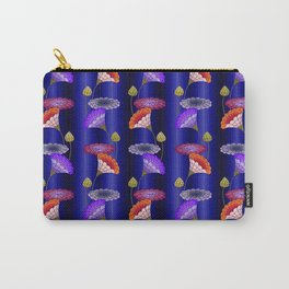 decorative floral ornament Carry-All Pouch