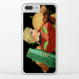 Shame Us With Your Samus Clear iPhone Case
