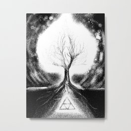 Triforce Roots Metal Print
