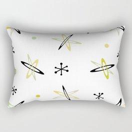 Atomic Era Space Age Rectangular Pillow