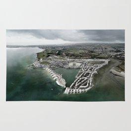 Flood Resilient Townscape - Par Docks Rug
