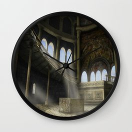 Sacrifices Temple Wall Clock