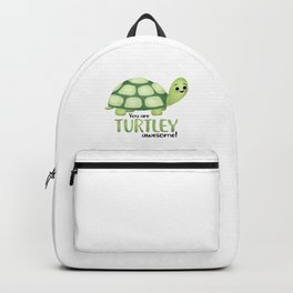You Are Turtley Awesome! Backpack