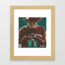 Freddy the Boogieman Framed Art Print