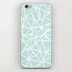 Ab Outline Thick Mint iPhone & iPod Skin