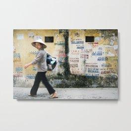 Vietnamese Alley Metal Print