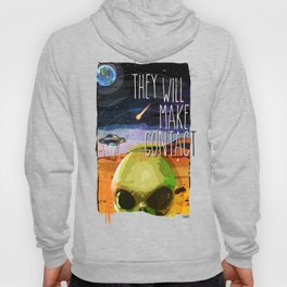 alien invasion Hoody