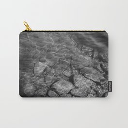 Under Water (Black and White) Carry-All Pouch
