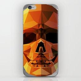 Skull head iPhone Skin